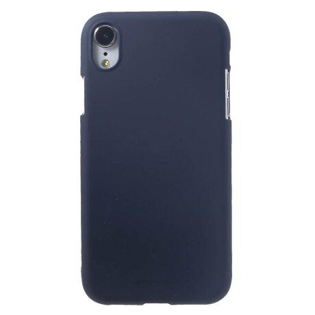 Husa iPhone XR Jelly Soft, Goospery Albastru inchis