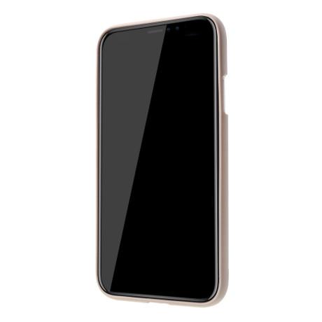 Husa iPhone XR Jelly Soft, Goospery Roz Gold