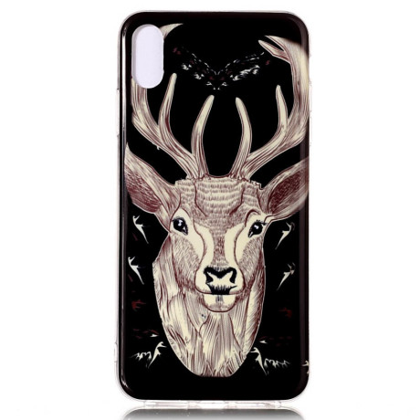 Husa iPhone XR Luminous Patterned Deer