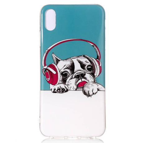 Husa iPhone XR 6.1'', Luminous Patterned, Dog