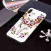 Husa iPhone XR 6.1'' Luminous Patterned Flowered Elk