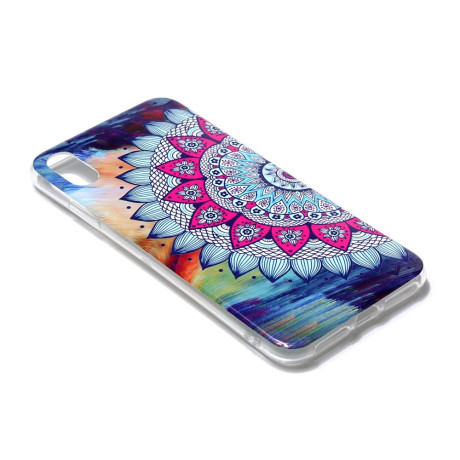 Husa iPhone XR 6.1'' Luminous Patterned Mandala Flower