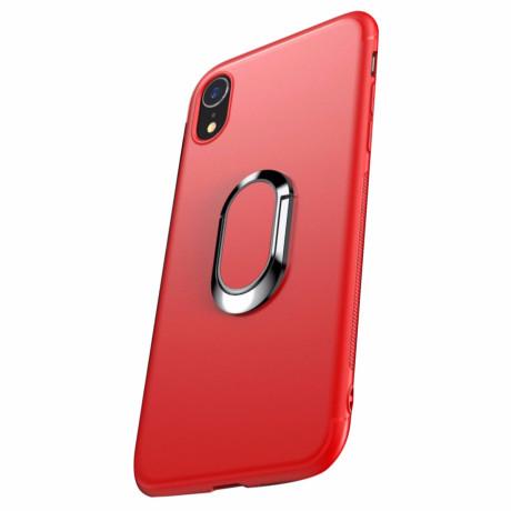 Husa iPhone XR 6.1'' Magnetic Finger Ring Rosie