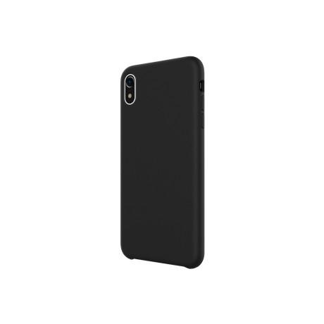 Husa iPhone XR 6.1'' Moka Liquid Silicone WK Neagra