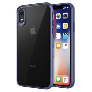 Husa hard iPhone XR PC+TPU Albastru