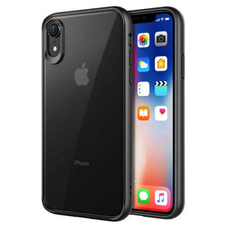 Husa iPhone XR 6.1'' PC+TPU Negru