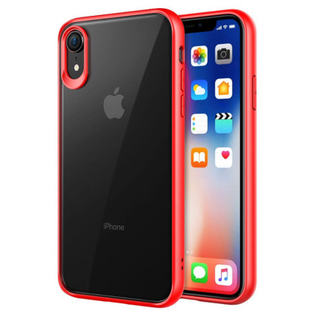 Husa hard iPhone XR PC+TPU Rosu