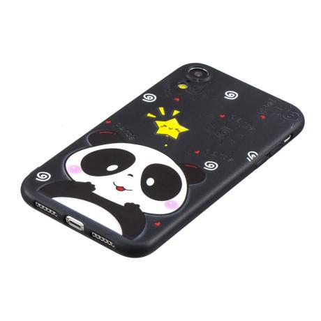 Husa iPhone XR Printing Embossed Panda