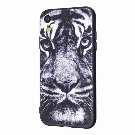 Husa iPhone XR 6.1'' Printing Embossed Tiger