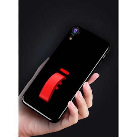 Husa iPhone XR 6.1'' Silicone Finger Grip Negru Howmak