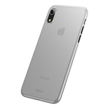 Husa iPhone XR Ultra Thin Baseus, Alba