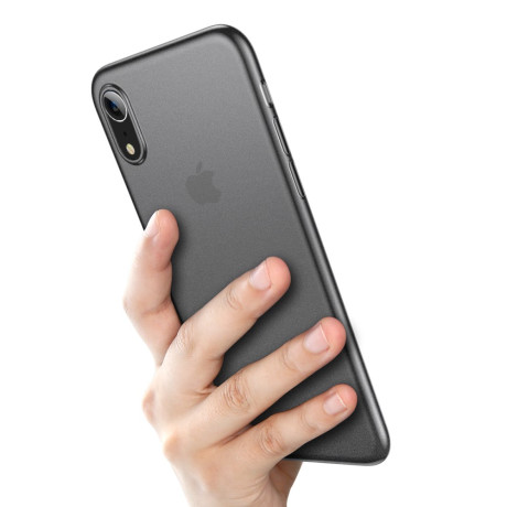 Husa iPhone XR Ultra Thin Baseus, Fumurie