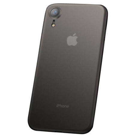 Husa iPhone XR 6.1'', Ultra-Thin Matte, Cafele Gri