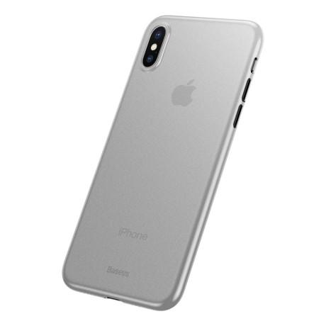 Husa iPhone XS Baseus Wing Series Alba