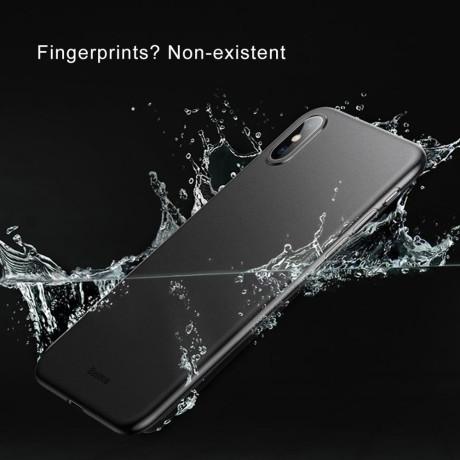 Husa iPhone XS 5.8'' Baseus Wing Series Neagra