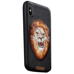 Husa iPhone XS Beast Series, Rock Lion