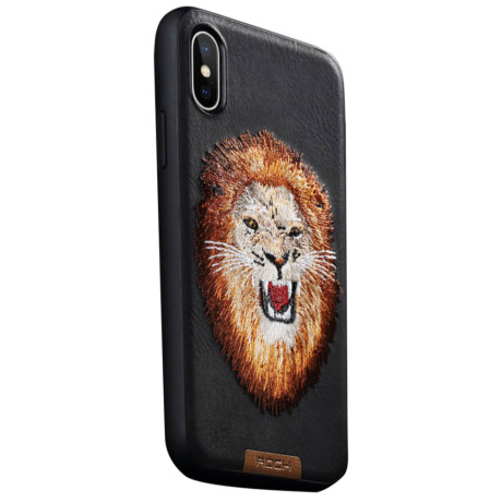 Husa iPhone XS 5.8'', Beast Series, Rock Lion