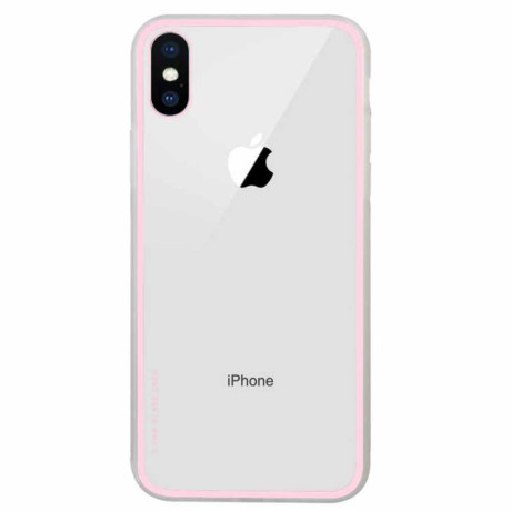 Husa iPhone XS 5.8'', Clear NXE, Roz