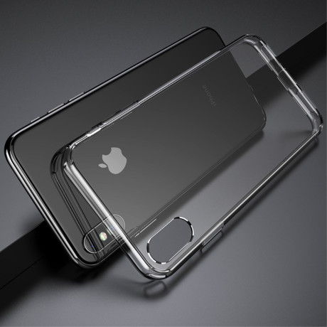 Husa iPhone XS 5.8'', Pure Series, Rock, Transparenta