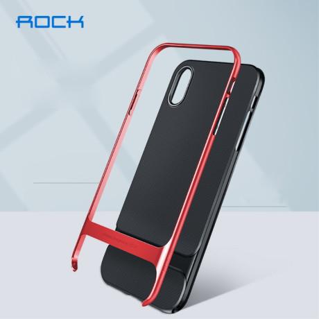 Husa iPhone XS 5.8'', Royce Series, Rock, Rosu
