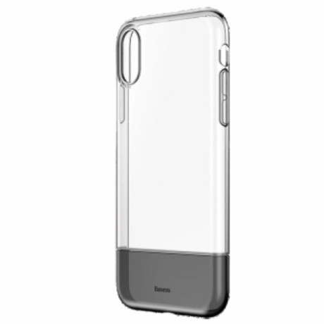 Husa iPhone XS 5.8'' Soft and Hard Baseus, Neagra