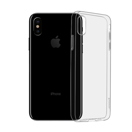 Husa iPhone XS, Hoco Light TPU Fumurie