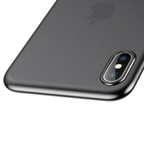 Husa iPhone XS Max 6.5'' Baseus Wing Series Fumurie