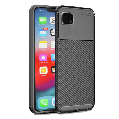 Husa iPhone XS Max 6.5'', Beetle Series Carbon Fiber, Neagra