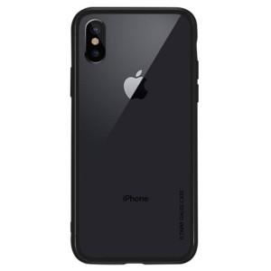 Husa iPhone XS Max 6.5'', Clear NXE, Neagra