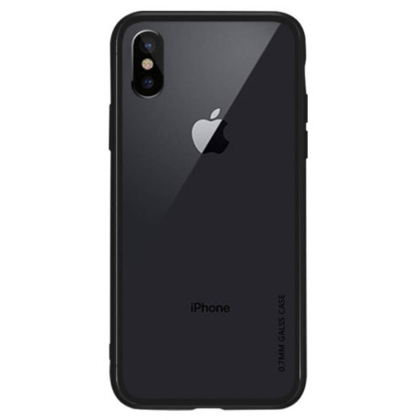 Husa iPhone XS Max 6.5'', Clear NXE, Neagra
