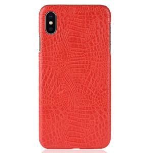 Husa iPhone XS Max 6.5'' Crocodile Texture Rosie