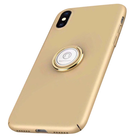 Husa iPhone XS Max Finger Ring Kickstand Aurie