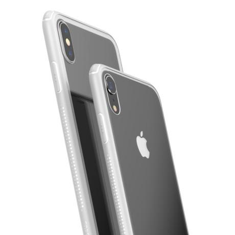 Husa iPhone XS Max 6.5'' Glass, Baseus Alba