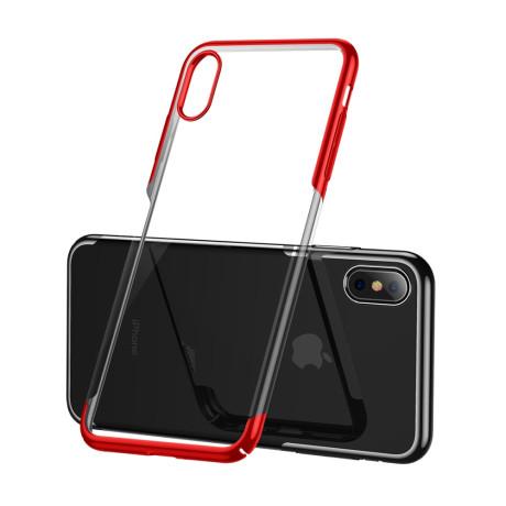 Husa iPhone XS Max 6.5'' Glitter Electroplated, Baseus Rosie