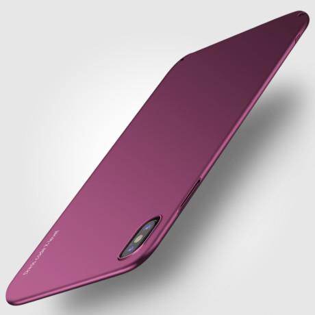 Husa iPhone XS Max 6.5'' Knight Series Bordo X-Level