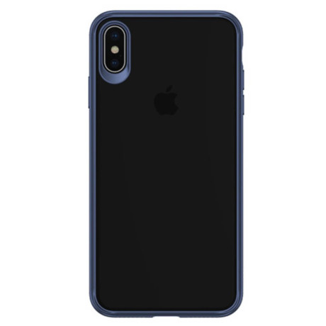 Husa iPhone XS Max 6.5'' Mant Series, Usams, Albastra