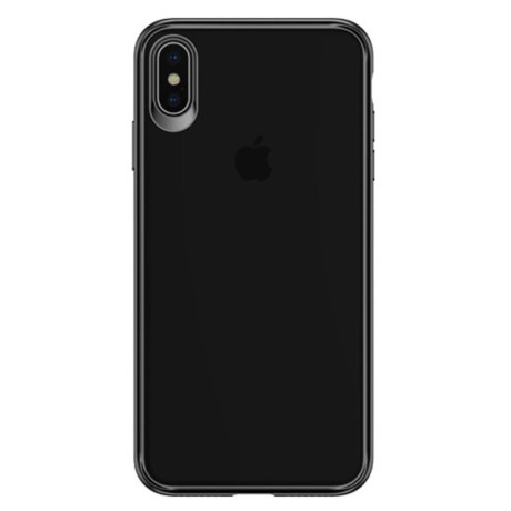 Husa iPhone XS Max 6.5'' Mant Series, Usams, Neagra