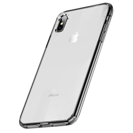 Husa iPhone XS Max, Pure Series, Rock, Transparenta