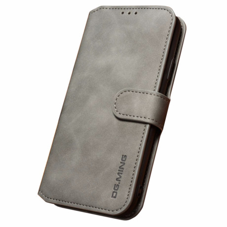 Husa iPhone XS Max 6.5'' Retro Style Leather, Dg. Ming  Gri