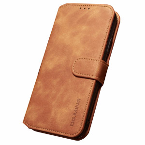 Husa iPhone XS Max Retro Style Leather, Dg.Ming Maro