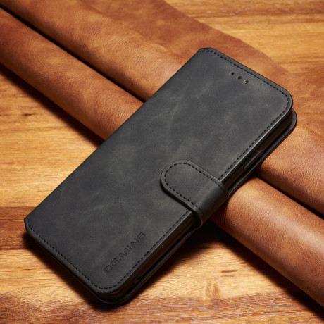 Husa iPhone XS Max 6.5'' Retro Style Leather, Dg.Ming Neagra