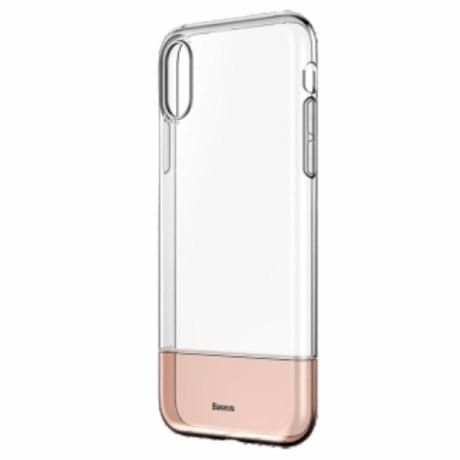 Husa iPhone XS Max 6.5'' Soft and Hard Baseus, Aurie