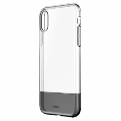 Husa iPhone XS Max Soft and Hard Baseus, Neagra