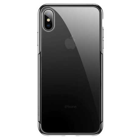 Husa iPhone XS Max,Shining Series, Neagra