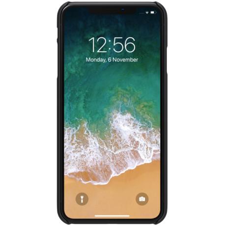 Husa iPhone XS Max Frosted Shield Negru Nillkin