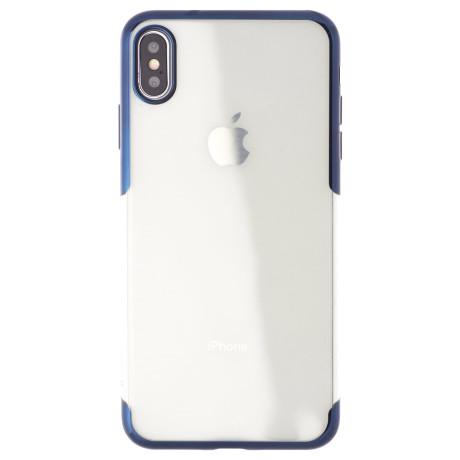 Husa iPhone XS Max Shining , Baseus Albastra