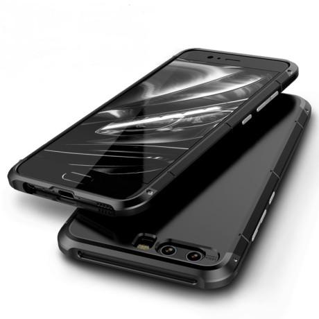 Husa iPhone XS Max Shockproof Armor Cover, Rama Neagra