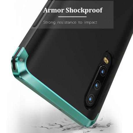 Husa iPhone XS Max Shockproof Armor Cover, Rama Verde