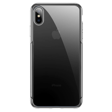 Husa iPhone XS/X Shining Series Baseus Argintie