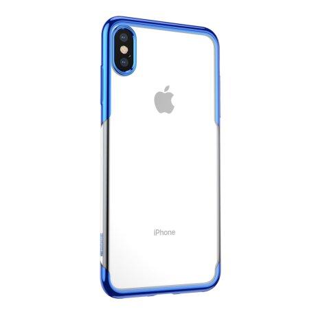 Husa iPhone XS/X,Shining Series, Albastra, Baseus